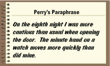 what does paraphrase mean in poetry