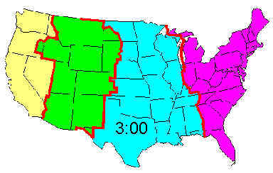 Texas Time Zone Map | Business Ideas 2013
